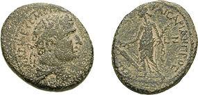 Herod Agrippa  10 BCE -- 44 CE