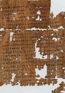 papyrus frag