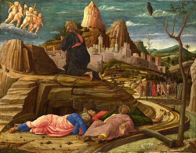 Sleeping disciples, Andrea Mantegna, 15thC