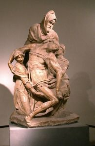 Nicodemus at the deposition from the Cross, Michelangelo, 16th C