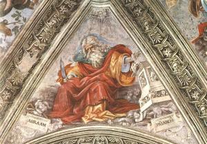 Abraham with circumcision knife, Fra Filippo Lippi, 16thC