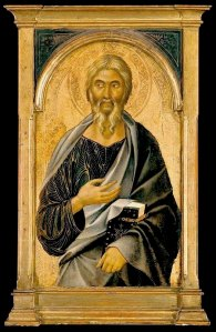 John the Evangelist, Segna di Bonaventura, 14thC