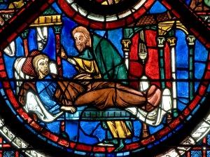 Good Samaritan, Chartres, 13thC