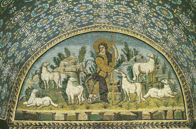 Galla Placidia mosaic, 5thC