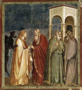 judas bribed Giotto