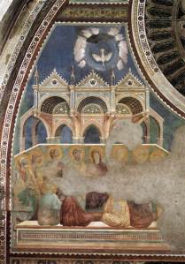Pentecost, Giotto, Assisi, 13thC
