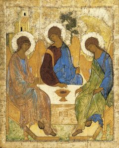 Trinity, Andrei Rublev, 15thC