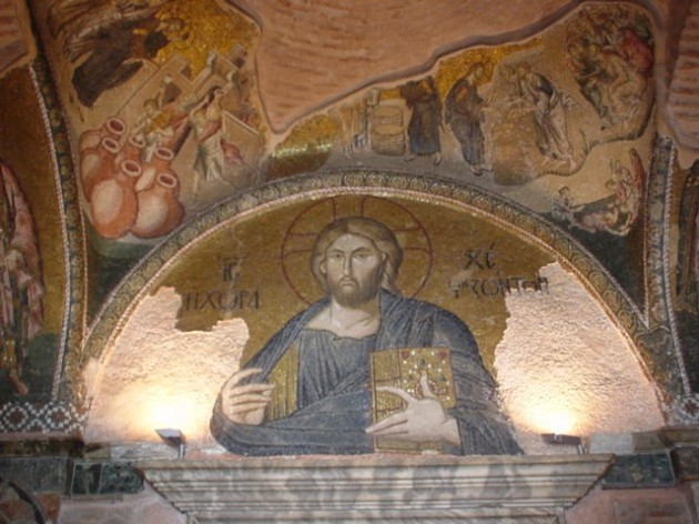 Jesus with the Word, Chora Monastery, Turkey, 14thC
