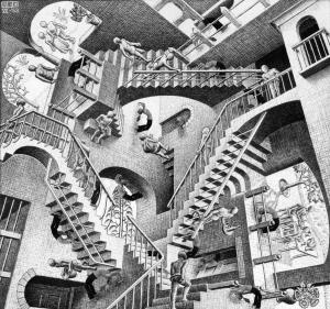 MC. Escher, Relativity