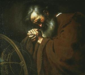 Heraclitus the Weeping  Philosopher, Johannes Moreelse, 17thC