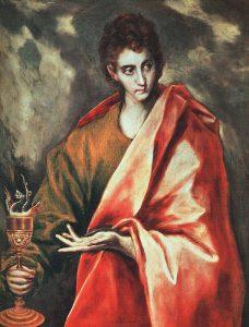John the Evangelist, El Greco, 16thC