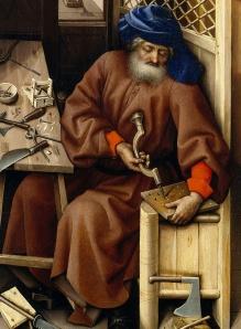 Joseph, Mérode altarpiece, Master of Flémalle, 15thC