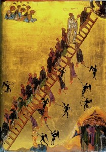 Ladder of Divine Ascent, St Catherine's monastery, Egypt, 12thC
