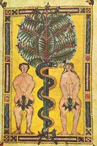 Illuminated parchment, Spain, 10thC