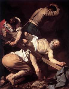 Martyrdom of St Peter, Caravaggio, 17thC