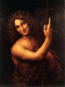 John the Baptist, Leonardo da Vinci, 16thC